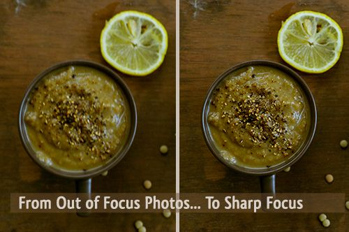 Why Your Food Photo is Not Focused and How to Fix Out of Focus Pictures via Learn Food Photography and Food Styling