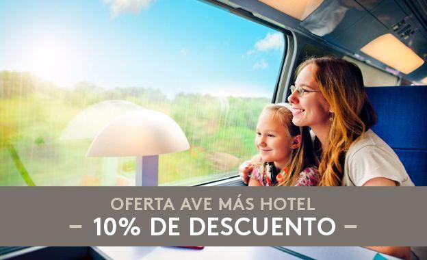 Si vienes desde Madrid o Sevilla a Valencia con el tren Ave, sólo en Valenciaflats encontrarás la mejor oferta de Ave más hotel.