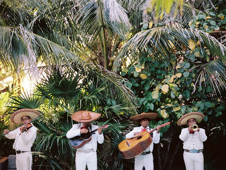 Tulum Wedding Mariachi : Destination Wedding Photographer in Mexico