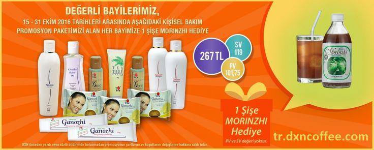 DXN Türkiye kisisel bakim promosyonu
