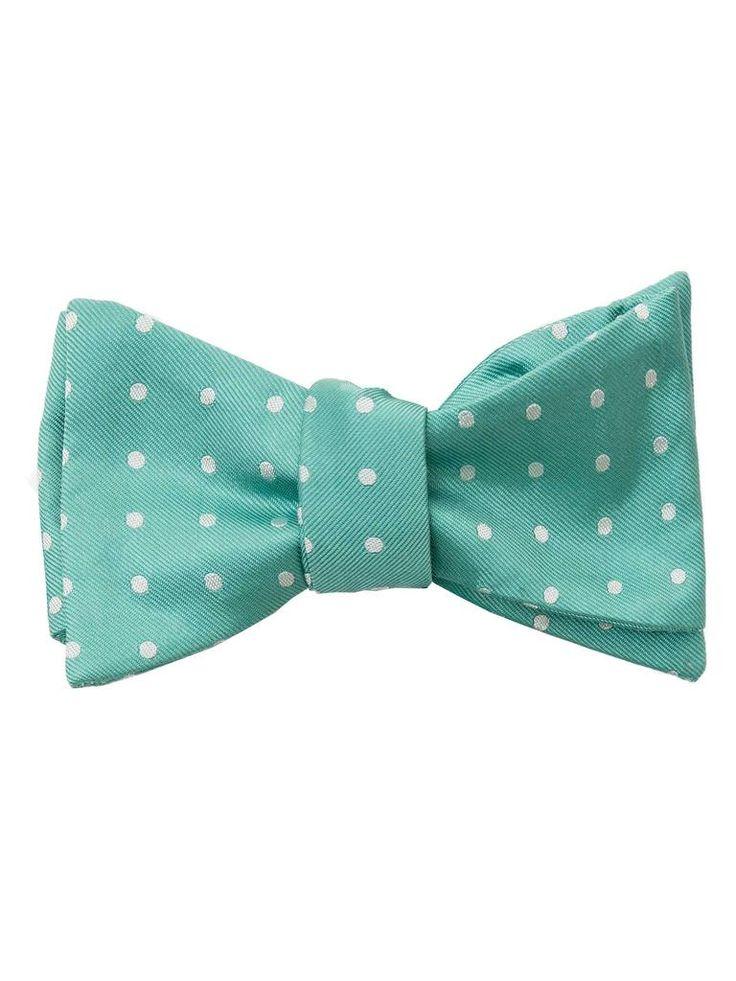 Buy Cheap Official Site Linen Self tie bow tie - White polka dots on light orange plain weave - Notch OJIN Notch Lowest Price gA0MoUO