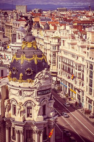 Madrid, Espana, must see while in Spain.