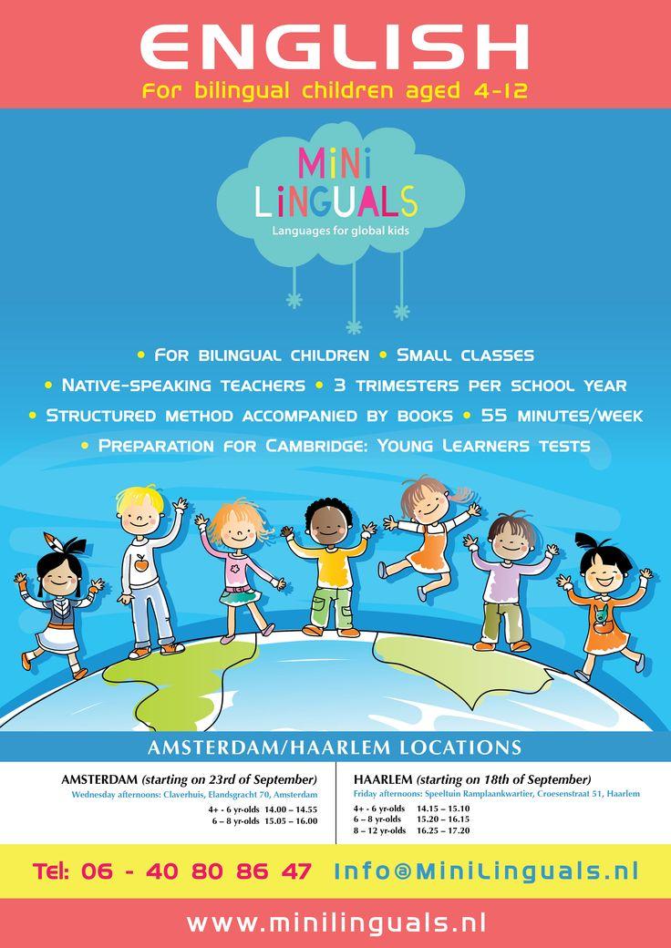 Minilinguals A3 Poster