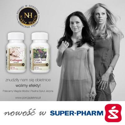 Noble Health - największa na rynku dawka naturalnego kolagenu w jednej tabletce stworzona w trosce o twoje zdrowie i piękno. Grape Seed – produkt zalecany jako uzupełnienie kuracji Collagen Noble Health to najmocniejszy antyoksydant - ziołowa ochrona naczyń krwionośnych.