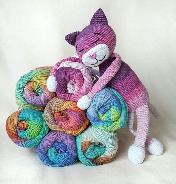 Amigurumi Büyük Boy Kedi Yapımı