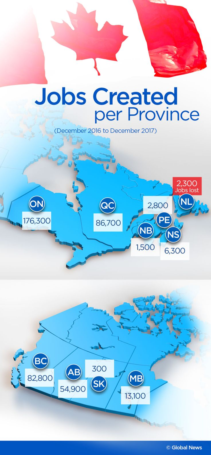 Here's a province-by-province breakdown of Canada's record-low unemployment rates | Globalnews.ca