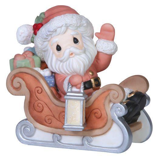 Precious Moments - Santa's On HIs Way  #151020