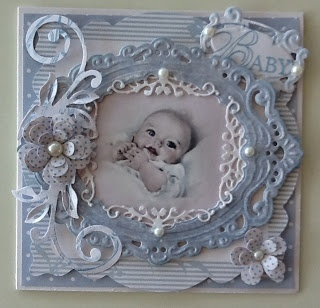 Who wouldn't be thrilled to receive a keepsake card like this? Adaptable for many occasions.