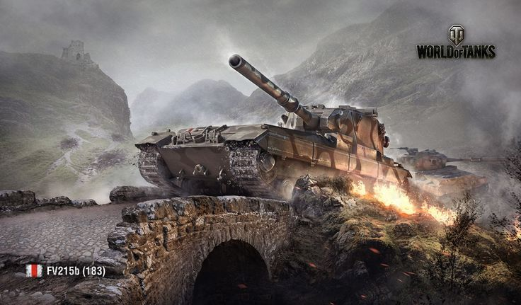 December 2013 Wallpaper | Art | World of Tanks