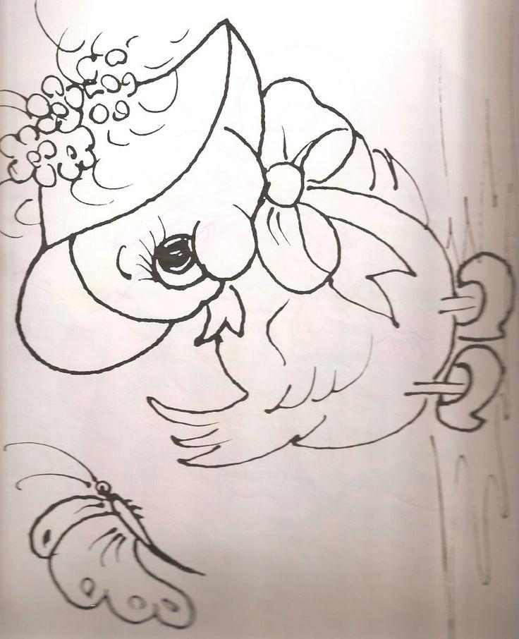1000 ideas sobre dibujos para bordar en pinterest - Patrones para pintar en tela ...
