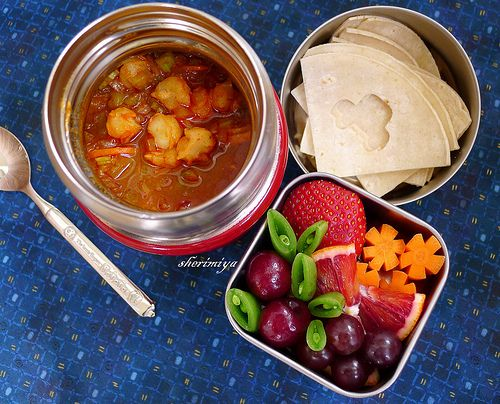 creative, appealing, and delicious bento ideas from a great blog!: Bento Heaven, Posole Bento, Cooker Posole, Bento Things, Bento Ideas, Bento Blog, Favorite Recipes