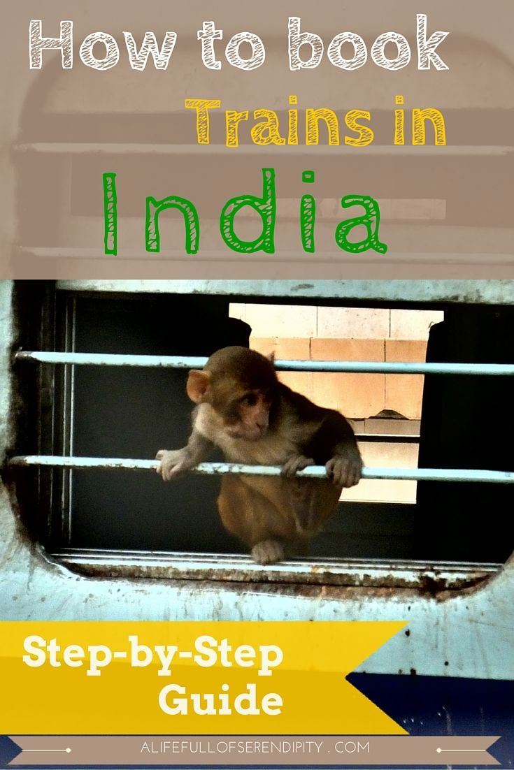 How to book trains / train tickets in India - Step-by-Step Guide. Everyone who has travelled to India would probably tell you that for a real Indian Adventure, you gotta travel by Train. They are cheap, comfortable and you get to meet locals. However, it's not as straight-forward as you think and there are some precautions to take to make train travel an even better experience.