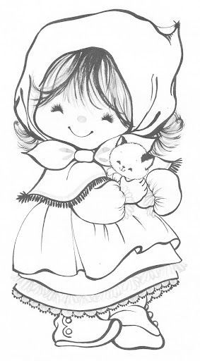 Cute Hallmark Charmers Coloring Pages