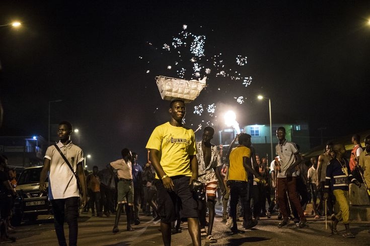 A frightening night in Ghana | The fire festival of Dagbon — Yamuna Flaherty