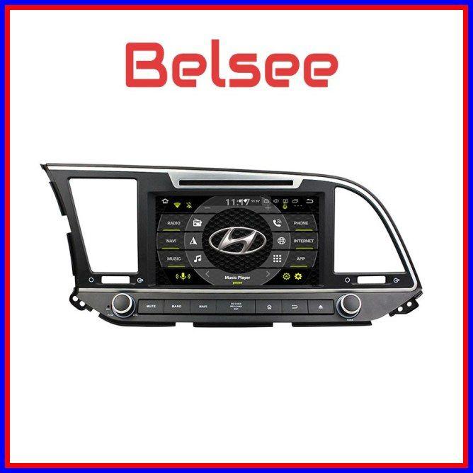 Cheap Belsee For Hyundai Elantra 2016 2017 2 Din 4gb 8 0 Android Car Radio Gps Navigation Stereo Autoradio Dvd Player Wifi Cheap Car Audio Car Radio Car Audio