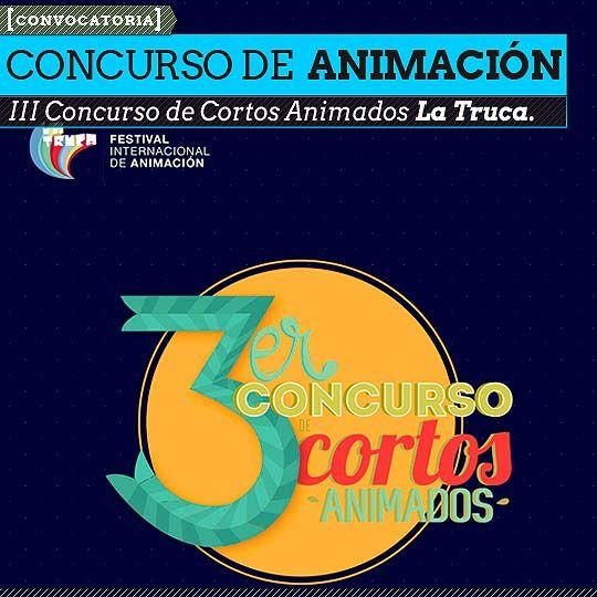 Concurso de Cortos Animados La Truca.  El Festival Internacional de Animación La Truca convoca a los nuevos realizadores para exponer y dar a conocer sus trabajos.    Leer más: http://www.colectivobicicleta.com/2013/03/concurso-de-cortos-animados-la-truca.html#ixzz2OCcHxV3d