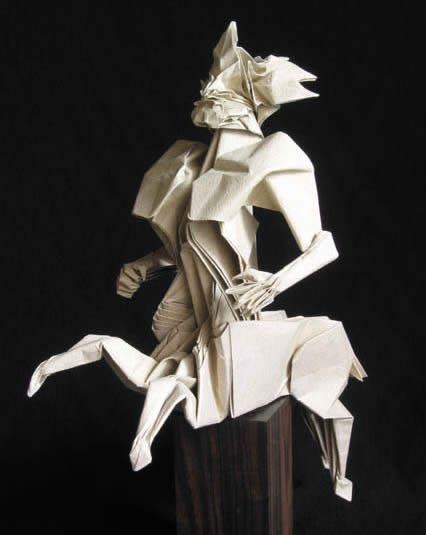 Origami is an ancient Japanese art of paper folding. Today we present you the 15 most amazing origamis ever. (paper sculpture, cool origami)