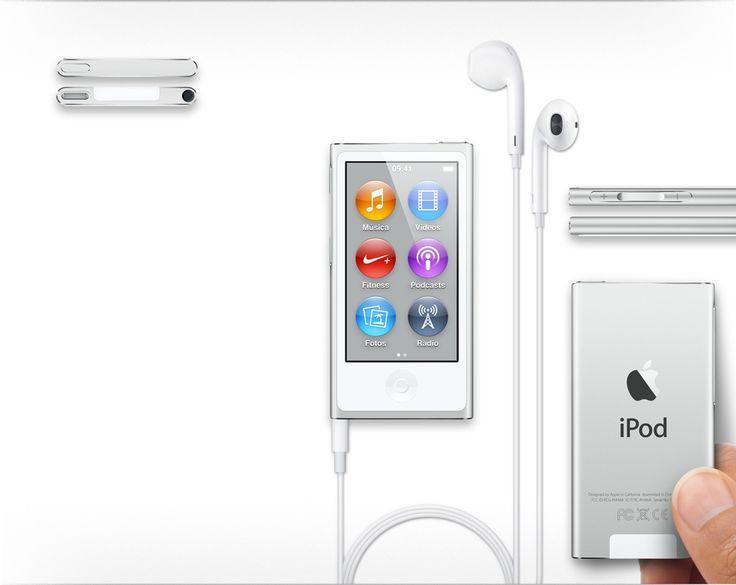 Apple - iPod nano con Multi-Touch.