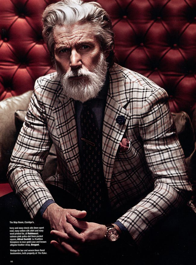 THE RAKE MAGAZINE - Aiden Shaw in Mayfair Marvel by Munster.