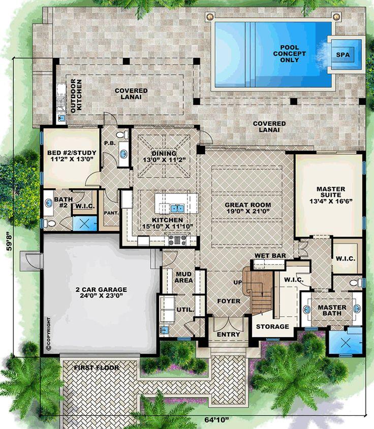 16 Best Cali House Plans Images On Pinterest Home Design