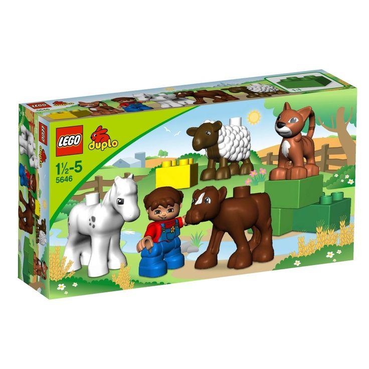 Lego Duplo 5646 Mláďata na farmě - 0