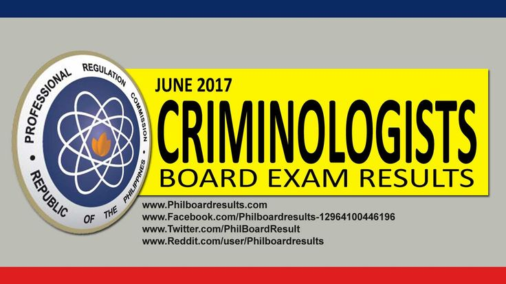 top performing performance schools june 2017 criminologists board exam results