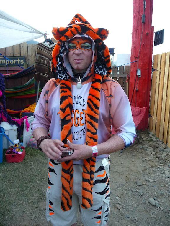 Tiger animal faux fur hood handmade in Calgary, Canada.  http://bollibears.com/eshop/product/orange-tiger-animal-hood/