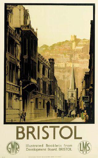 Bristol - GWR - LMS - 1933 - (Claude Buckle) -