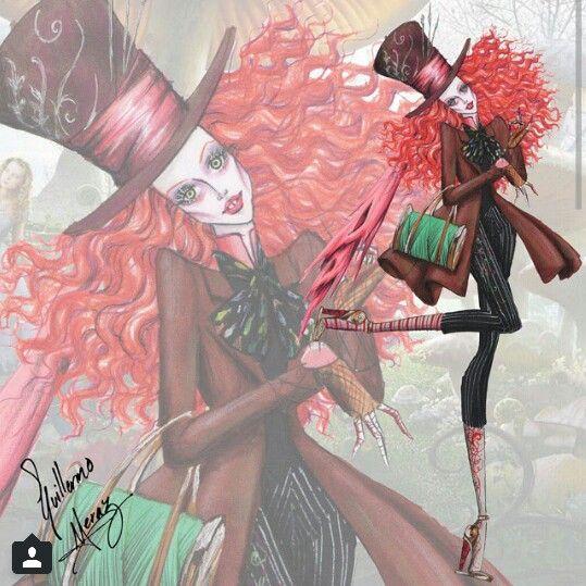 Mad hatter Tim Burton collection by Guillermo meraz
