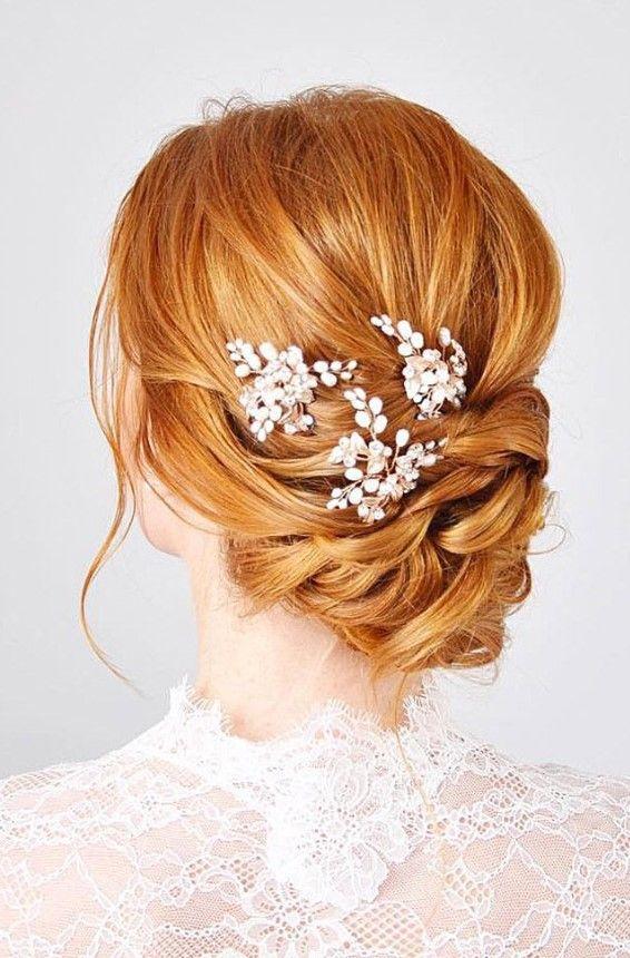 Brautfrisuren Fur Rote Haare 2019 Brautfrisuren Rote Haare Hochzeitsfrisuren Rote Haare Hochzeitsfrisuren