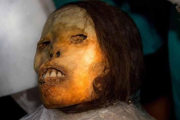 Juanita, la ''momia'' inca congelada reluce intacta tras 20 años de su hallazgo