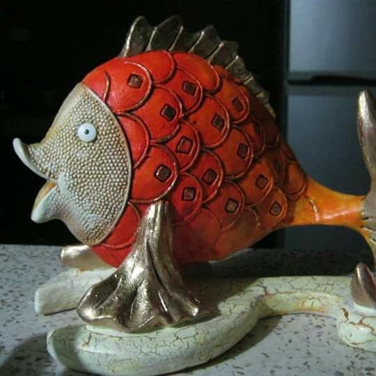 Pez cerámica