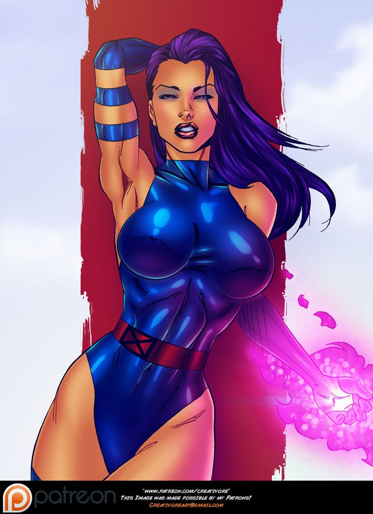 Sexy marvel artwork