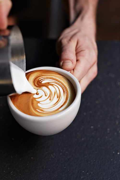 latte art? Can we get someone to do this for our shoot?