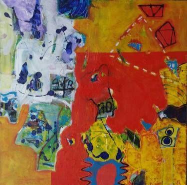 "Saatchi Art Artist Dumitrache Ciprian; Painting, ""TRIP"" #art"