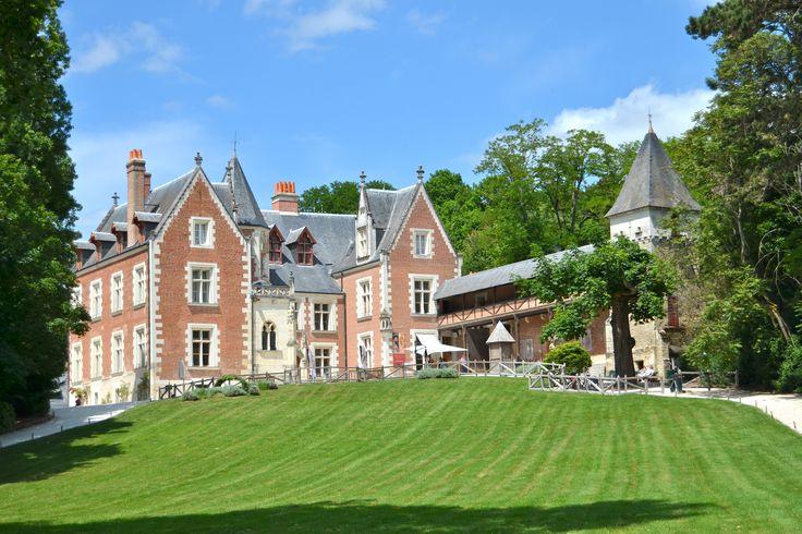 Le château du Clos-Lucé à Amboise.