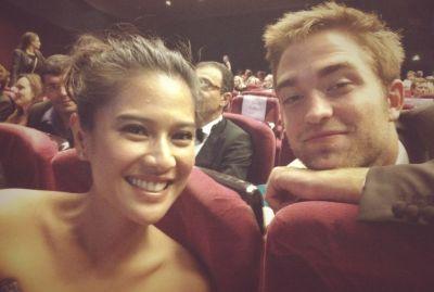 Dian Sastro-Robbert Pattinson (Foto: Twitter)
