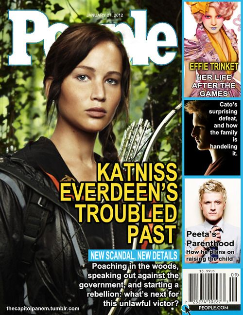 People Magazine in Panem.