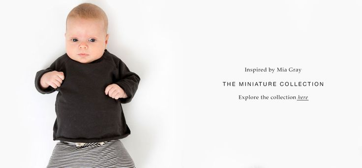 Gray Label Miniature Collection - nettside, snitt, farger