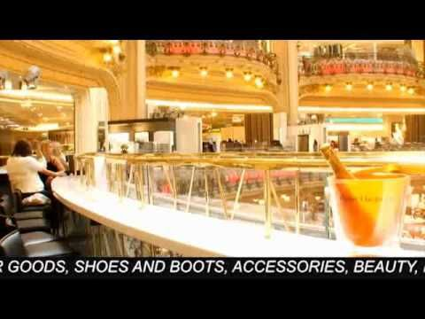 Great intro to clothing unit.Virtual tour of Galleries Lafayette in Paris. The kids want to visit as soon as they see it.