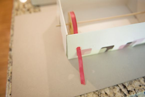 Tired of An Un-Organized Craft Area? Start Organizing by Making A Pretty Storage Box For Ribbons, Leather or Raffia | Fab You Bliss