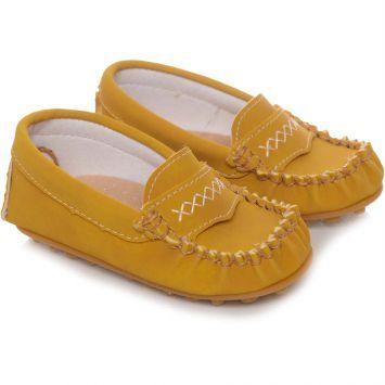 Mocassim Infantil Tricae Baby Amarelo