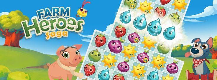 Farm Heroes Saga si aggiorna introducendo 370 nuovi livelli - http://www.tecnoandroid.it/farm-heroes-saga-si-aggiorna-introducendo-370-nuovi-livelli/