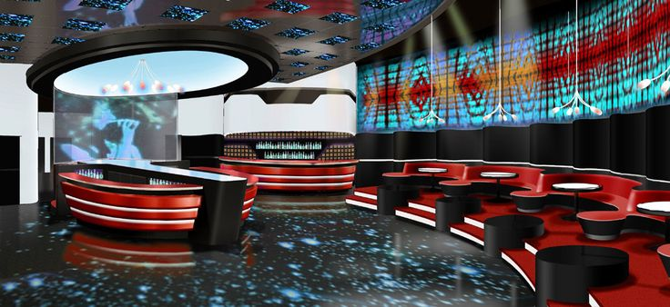 designer interieur design Radio Lounge Dix30 bar nightclub Brossard