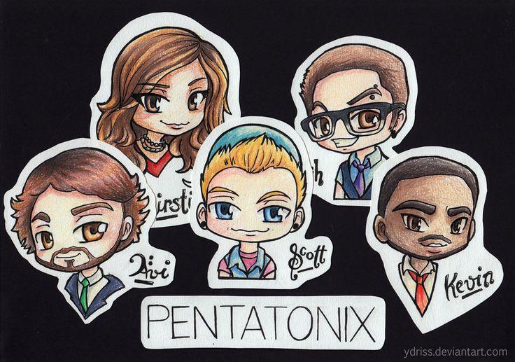 Love it!!!! PTX. Pentatonix Fanart