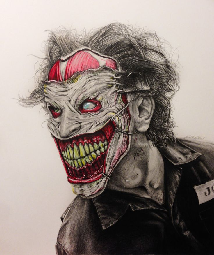 The New 52 Joker by MyaWho.deviantart.com on @deviantART