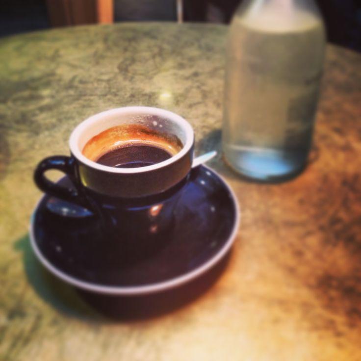 antipodes & darker beverage.  Imperial Lane Cafe. Auckland. NZ