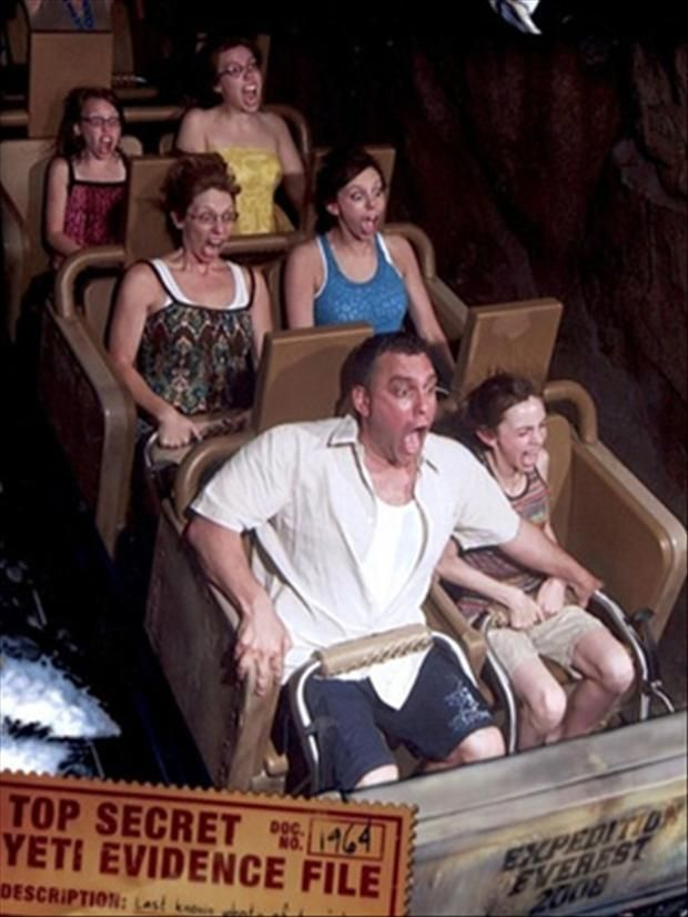Funny Roller Coaster Pictures - 20 Pics