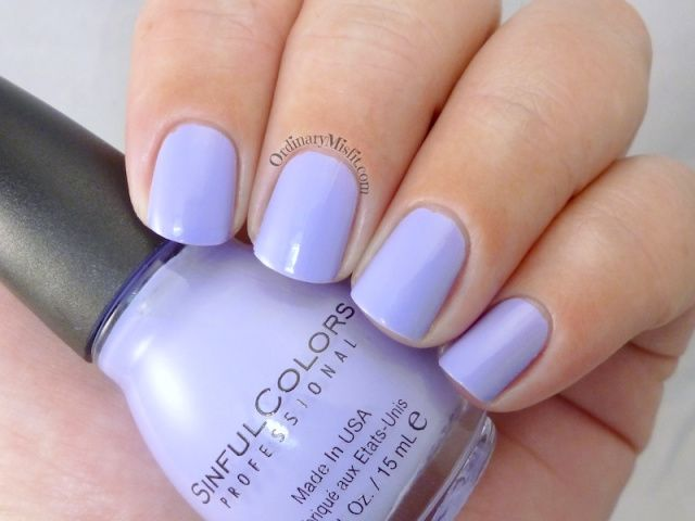Sinful Colors - Baby blues (2 coats)