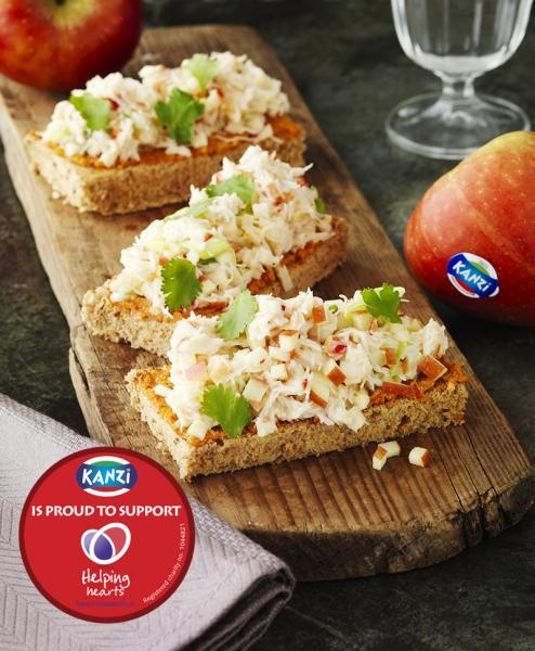 Crab & Kanzi® apple toasties | food | Pinterest